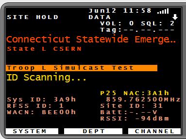 CT new radio system activity - Scan New England