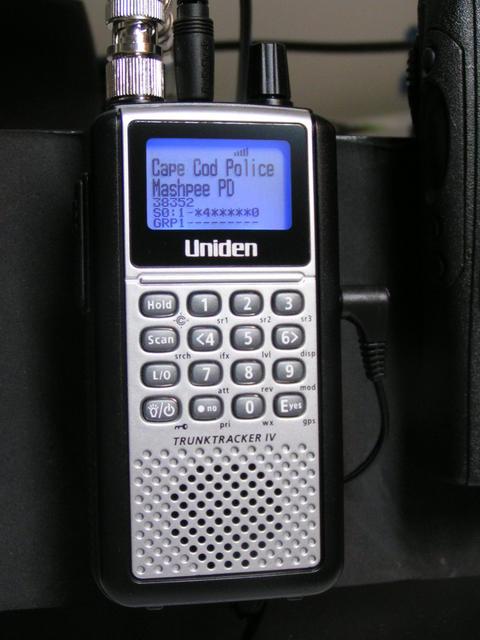 Uniden BCD396XT - Scan New England